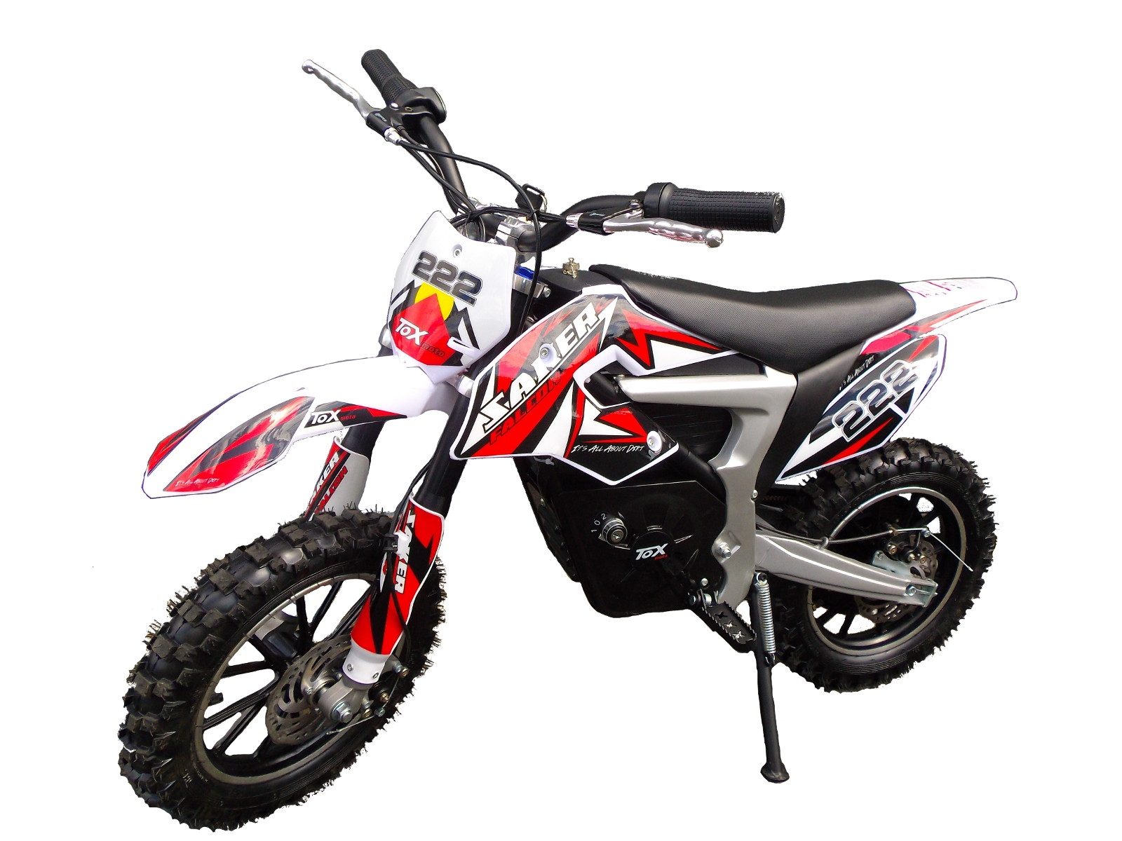 mini moto cross dirt bike rouge motoquadelec. Black Bedroom Furniture Sets. Home Design Ideas