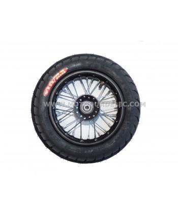 roue avant dirt bike tox supermotard 10 pouces