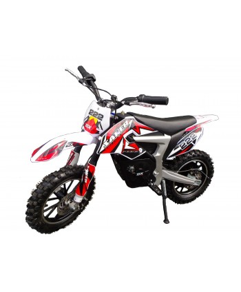 Mini Moto Cross Dirt Bike Rouge