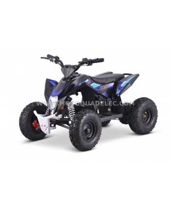 Quad 36V 1100W Lithium Adventurer Bleu