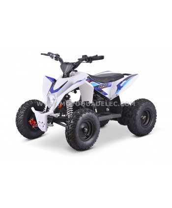 Quad 36V 1100W Adventurer Blanc-Bleu