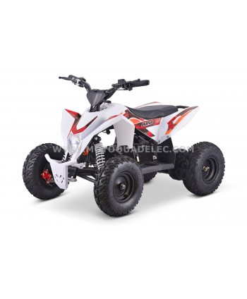 Quad 36V 1100W Adventurer Blanc-Rouge-Orange