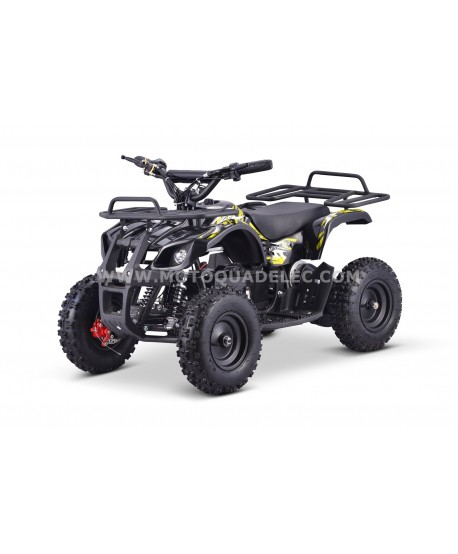 Mini Quad Enfant TOX 1000W TRAPPER II Jaune