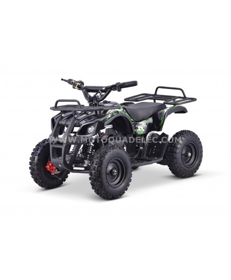 Mini Quad Enfant TOX 800W TRAPPER II Vert