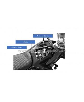 DIRT BIKE TOX 36V 1100W ROUGE