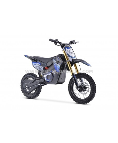 DIRT BIKE TOX 36V 1100W BLEU