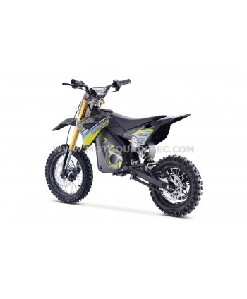 DIRT BIKE TOX 36V 1100W JAUNE
