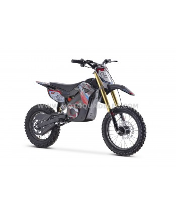MOTO DIRT BIKE TOX 48V 1300W ROUGE ULTIMATE