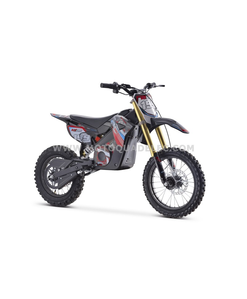 DIRT BIKE TOX 48V 1300W ROUGE ULTIMATE