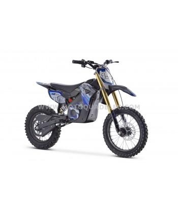 MOTO DIRT BIKE TOX 48V 1300W BLEUE ULTIMATE
