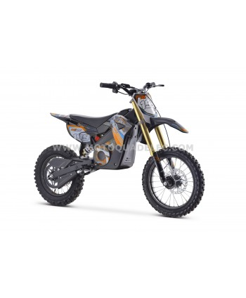 DIRT BIKE TOX 48V 1300W ORANGE ULTIMATE