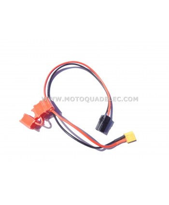 CABLE ET CONNECTEUR DE BATTERIE LITIUM DIRT BIKE XT60